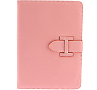 Upscale Nice Pink PU Full Body Case with Stand for iPad Air