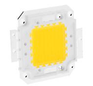 DIY 50W 3950-4000LM 1500mA 3000-3500K luz branca quente Módulo LED integrado (30-36V)