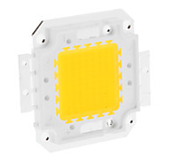 DIY 50W 3950-4000LM 1500mA 3000-3500K Warm Modulo luce bianca LED integrato (30-36V)