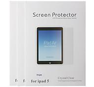 Drei Stücke Lunch Professionelle Anti-Glare LCD Screen Protector mit Reinigungstuch für iPad Air