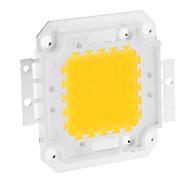 DIY 80W 6350-6400lm 2400mA 3000-3500K calientan Módulo de luz blanca LED integrado (30-36V)