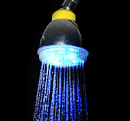 Water Powered Blue Light LED ABS Hand Shower