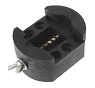 Watch Back Case Cover Adjustable Holder (Black)