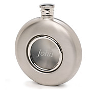 Personalized Gift 5oz Mirror Surface Metal Flask