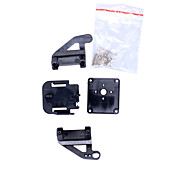 Camera Platform Mount with Screws for 9G Aircraft FPV - Black