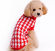 Full Star Style Folding Collar Warm Sweater for Pets Dogs (Assorted Sizes)