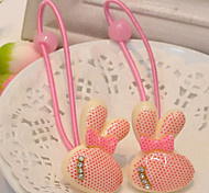 Girl's Rabbit Hair Ties(5 Pairs)