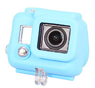 Silicone Case for Gopro HD Hero 3(Blue)