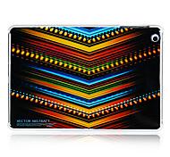 modèle ligne de v plastique arrière cas pour Mini iPad 3, iPad Mini 2, Mini iPad