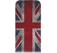 Union Jack modello Cuoio Custodia Bady completi per iPhone 5/5S