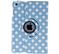 Round Dots Pattern Blue Case for iPad mini 3, iPad mini 2, iPad mini