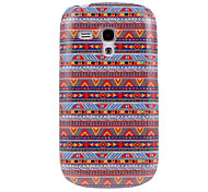 Nationality Style #005 Pattern Plastic Hard Back Case Cover for Samsung Galaxy S3 Mini I8190