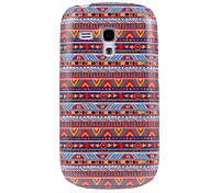 Национальность Style # 005 Pattern Пластиковые Твердый переплет чехол для Samsung Galaxy S3 Мини I8190