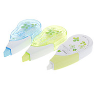 3pcs Clover Pattern Correction Tape