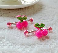 Children's Cherry Hair Clip(4/set)