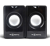 SENIC SN-418 Portable Elegant Mini Speaker for Laptops/PC (1 Pair)