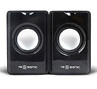 SENIC SN-418 Tragbarer Elegante Mini-Lautsprecher für Laptops / PC (1 Paar)