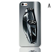 Roadster Series Pattern Hard Case with 3-Pack Screen Protectors for iPhone 5/5S