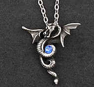 Lolita Jewelry Gothic Lolita Necklace Lolita Silver / Blue Lolita Accessories Necklace Patchwork For Men / WomenAlloy / Artificial