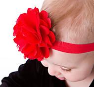 Mädchen Roten Blumen-Stirnband