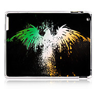Eagle Pattern Plastic Back Case for iPad 2/3/4