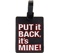 Luggage Tag Portable Anti Lost Reminder for Luggage Accessory