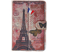 Eiffel Tower Pattern General Case with Pen and Screen Protector for 7' Google/Asus/Amazon Tablet