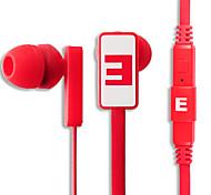SENIC IS-R29 pliable In-Ear Earphonefor PC / iPhone / iPod / iPad / Samsung
