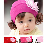Lureme®Flower Wig Kid's Headbands
