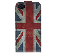 Union Jack-Muster PU-Leder-Voll Bady Hülle für iPhone 4/4S