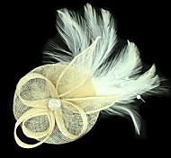 Feather Facinators Acconciature da sposa