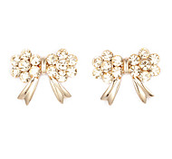 Cute bowknot-shaped Stud Earrings