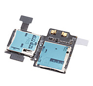 For Samsung Galaxy S4 i9500 i9505 - Replacement Part Micro SD SIM Card Tray Slot Holder Flex Cable