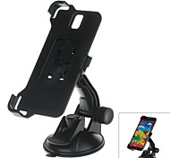 360 Degree Rotation Holder Mount Bracket w/ H80 Suction Cup for Samsung Galaxy Note 3 N9006 – Black