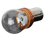1156-5W 1156 5W 250lm Cree XPE Q5 LED dell'automobile bianca luce freno / Foglight - (DC 12 ~ 24V)