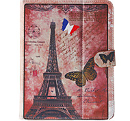 Eiffel Tower Pattern General Case with Pen and Screen Protector for 9.7' Google/Asus/Amazon Tablet