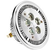 Faretti 5 LED ad alta intesità G53 5 W 420-450 LM Bianco caldo AC 85-265 V