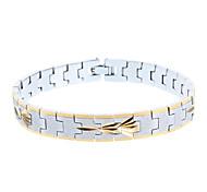 Miss ROSE®High-Quality Men's Copper Golden Bracelet
