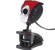 8,0 megapíxeles de 360 grados USB giratorio Webcam Drive-libre