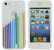 Relief Love Hearts Style Back Case for iPhone 5