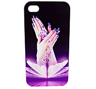 Black Fashion Relief Portrait Case for iPhone4/4S
