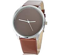Women's Coffee Dial PU Band Quartz Wrist Watch Cool Watch Unique Watch