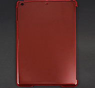 Ultra-thin Smooth Transparent Hard Case for iPad Air (Assorted Colors)