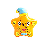 Star-shaped Educational Musical Yellow Study Machine with Songs and Jokes