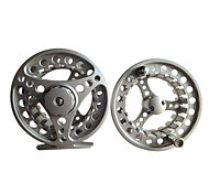 Professional Black Metal Fishing Fly Reel With A Spare Reel