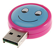 USB 2.0 Memory Card Reader (Red/Blue)