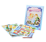 43 Piece DIY Paper Fairy Tale 3D Puzzle Fisherman and the Goldfish Story