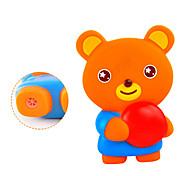 Visuel Belle sondage orange PVC ours Jouet de bain