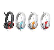 Salar A575 Modische Over-Ear-Stereo-Kopfhörer mit Mikrofon und Fernbedienung für PC / iPod / iPhone / Samsung / HTC
