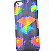 For iPhone 5 Case Pattern Case Back Cover Case Geometric Pattern Hard PC iPhone SE/5s/5